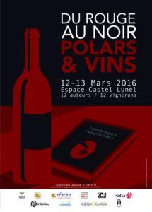vignobles du sud salon littéraire Lunel polar du rouge au noir