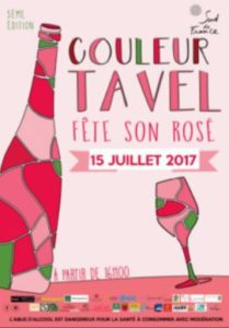 VIGNOBLE DU SUD TAVEL FETE SON ROSE 2017 OENOTOURISME