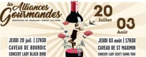 VIGNOBLE DU SUD ALLIANCES GOURMANDES BOURDIC 2017 OENOTOURISME